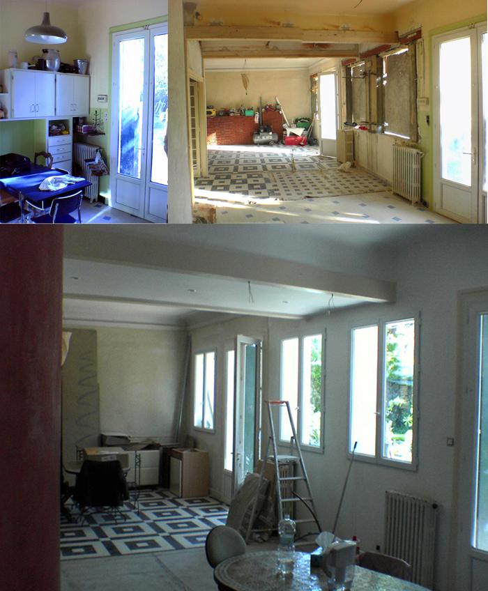 maison pgkz extension et renovation montpellier j r me mallaret architecte dplg montpellier. Black Bedroom Furniture Sets. Home Design Ideas